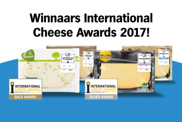 Winnaars International Cheese Awards 2017!