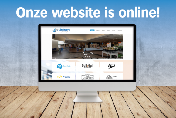 Onze website is online!