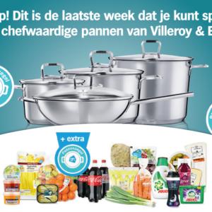 Laatste week sparen voor chefwaardige pannen van Villeroy & Boch