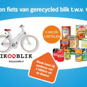 Win een fiets van gerecycled blik t.w.v. € 400!