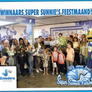 Winnaars Super Sunnie's Feestmaand