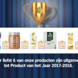 Product van het Jaar 2017-2018