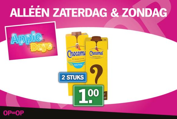 Appie Days: Zaterdag & Zondag