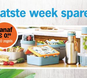Laatste week sparen voor lunchboxen en drinkbekers van Royal VKB!