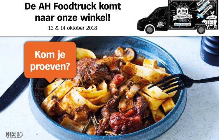 De AH Foodtruck komt naar onze winkel!