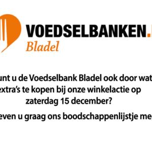 Steun de Voedselbank Bladel!