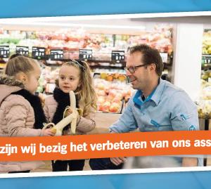 Albert Heijn is de supermarkt met het grootste aantal gezonde producten!