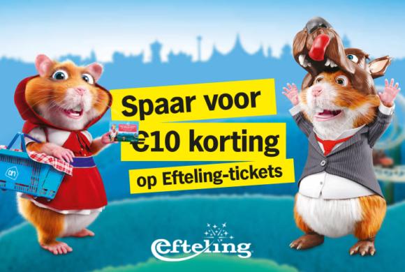 Spaar voor 10 euro korting op je Efteling-ticket!