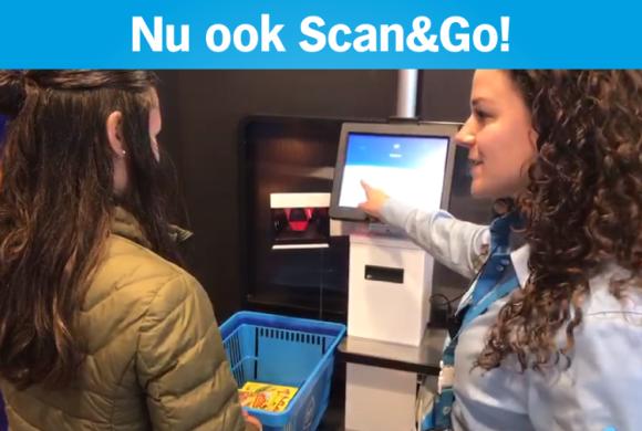 Maak nu gebruik van onze Scan&Go!