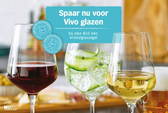 Spaar nu voor prachtige Vivo glazen van Villeroy & Boch Group!