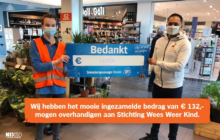 Stichting Wees Weer Kind donatie