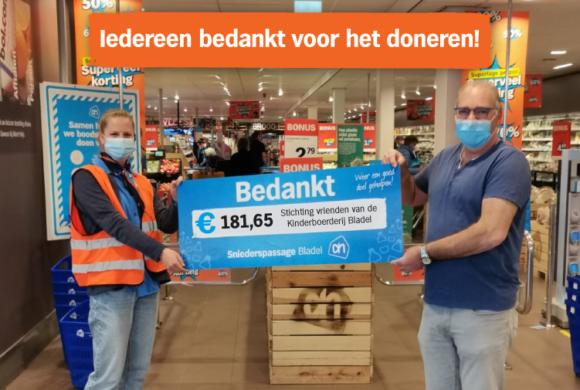 Donaties Stichting de Kinderboerderij Bladel