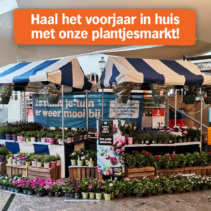 Plantjesmarkt t/m zondag 2 mei 2021
