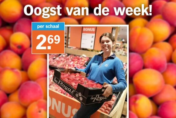 Oogst van de week: Nectarines