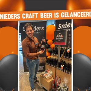 Snieders Craft Beer is gelanceerd bij Gall & Gall Bladel!
