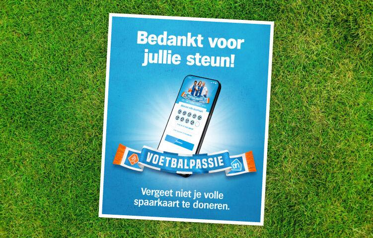 Laatste week Voetbalpassie spaarkaart verzilveren!