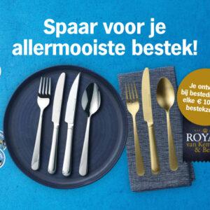 Spaar voor je allermooiste bestek van Royal van Kempen & Begeer!